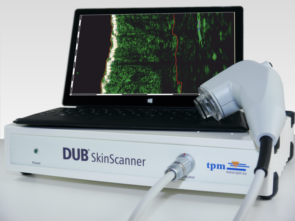 DUB SkinScanner 2015 with tablet